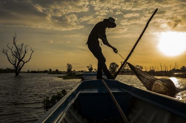 Tonle Sap Fisherman
