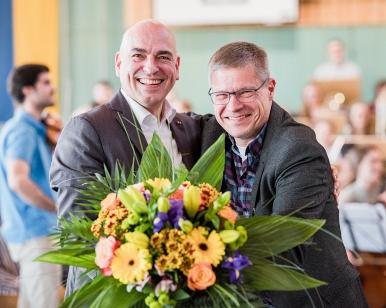 Ulrich Schubert und Henrik Hochschild